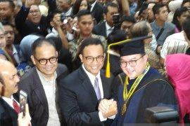 Anies Baswedan memuji Rektor IPB