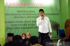 Menteri Desa ajak masyarakat Kabupaten Kubu Raya sukseskan program Desa Surga