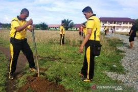 Polri rencanakan penanaman pohon di Pesantren Darul Aitami Aceh Barat