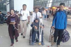 TKW korban kecelakaan kerja di Arab Saudi tiba di Sukabumi