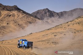 Andrey lanjutkan dominasi truk Dakar 2020