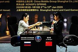 Wenjun vs Goryachkina imbang pada kejuaraan dunia catur putri