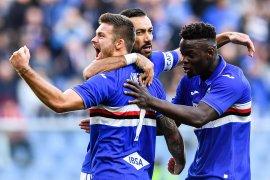 Empat pemain Sampdoria yang tertular COVID-19 kini  negatif