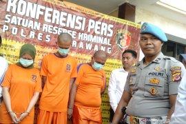 Komplotan penjahat yang bakar pemuda di Karawang ditangkap polisi