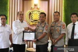 KPU berikan Polresta Denpasar piagam penghargaan