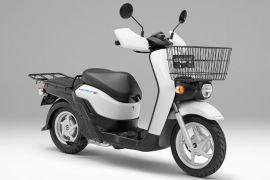 Skuter listrik BENLY produksi Honda dipasarkan April