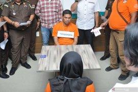 Rekonstruksi tahap tiga pembunuhan berencana Hakim PN Medan