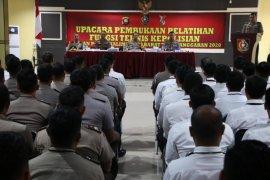 Kapolda Kalbar buka pelatihan Bintara Polri di SPN Kalbar