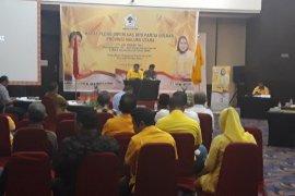 Pasangan Aliong Mus - Ramli optimistis direkomendasi Partai Golkar di Pilkada Pulau Taliabu