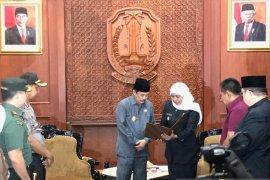 Dapat surat perintah tugas dari Gubernur, Cak Nur resmi Plt Bupati Sidoarjo