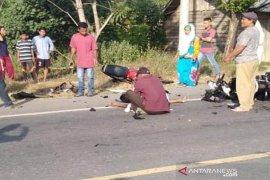 "Lakalantas Sepmor ""Scorpio"" vs ""Vario"" satu tewas di Aceh Timur"