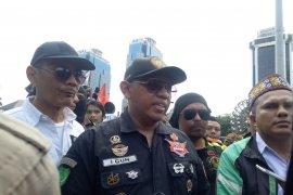 Aksi Ojol Nusantara Bergerak tuntut dua hal ke Kemenhub