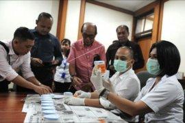 Anggota DPRD Denpasar jalani tes urine