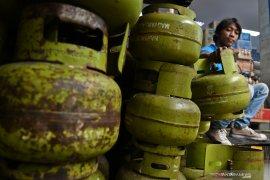 Harga gas elpiji subsidi 3 kg mulai naik di Sumut