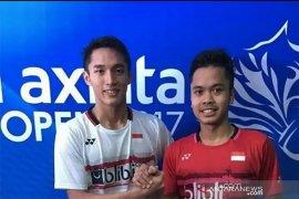 Ginting tundukkan Kashyap ke babak  dua Indonesia Masters 2020