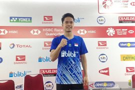 Ginting siap hadapi Tommy babak dua Indonesia Master