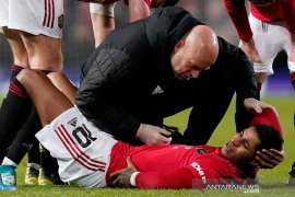 MU lolos putaran keempat Piala FA, Rashford malah cedera