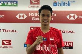 Indonesia Masters - Anthony singkirkan rasa canggung saat tundukkan Tommy