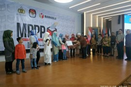 MPPP berikan santunan keluarga korban  petugas Pemilu 2019