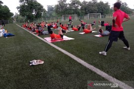 Empat pemain senior Persija kembali ikut jalani latihan, setelah absen pada tiga latihan