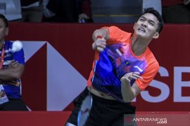 Indonesia Masters - Bermain agresif, Jojo bungkam Wang ke perempat final