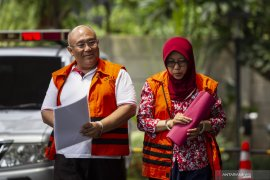 KPK eksekusi mantan Kadis PUBMSDA Sidoarjo ke rutan perempuan Surabaya