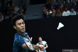 Shesar Hiren kalah, wakil tunggal putra Indonesia di Thailand Open II habis