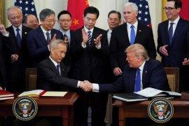 Amerika Serikat dan China tanda tangani perjanjian perdagangan