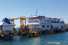 Penumpang kapal  penyeberangan antarpulau di Kalsel masih sepi
