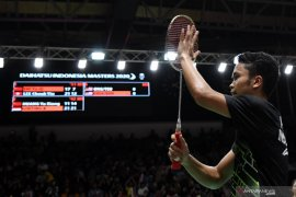 Anthony Ginting amankan tiket final Indonesia Masters