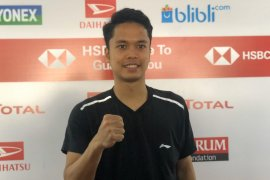 Anthony ke semifinal Indonesia Masters