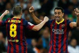 Iniesta ingin dampingi Xavi saat jadi pelatih Barcelona suatu saat nanti