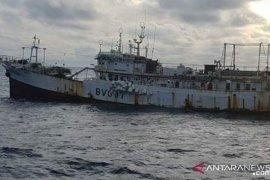 Kapal nelayan China tenggelam di Semau
