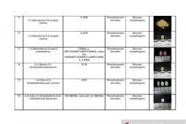 Daftar nama zat NPS yang sudah teridentifikasi di Indonesia Tahun 2019 Page 3 Small