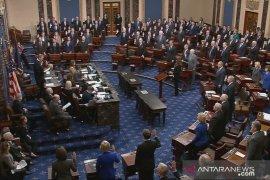 Senat AS bebaskan Donald Trump dari dakwaan pemakzulan