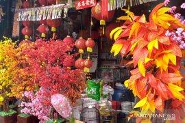Pernak - pernik tahun baru Imlek di Belitung laris terjual
