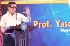 Yasonna jelaskan substansi pidato soal perbandingan Priok-Menteng