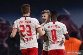 Dua gol Werner membuat Leipzig atasi Union 3-1