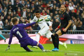 Liga Spanyol: Casemiro antar Madrid  atasi Sevilla dan naik ke puncak klasemen