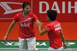Ganda putri Indonesia Greysia/Apriyani bangga dan bersyukur juarai Thailand Open 2021