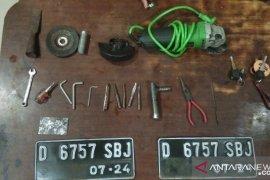 Polres Cianjur tangkap tiga pelaku pencurian kendaraan bermotor