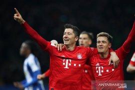 Bayern menang telak 4-0 di markas Hertha