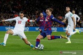 Barcelona konfirmasi Antoine Griezmann cedera otot