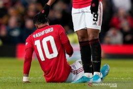 Manchester United terancam kehilangan Rashford hingga enam  pekan