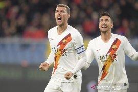 AS Roma hentikan rangkaian kekalahan dengan tundukkan Genoa