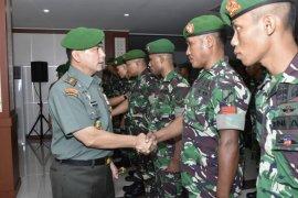 Pangdam XIII/Merdeka kunjungan kerja ke Gorontalo