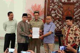 Anies menerima usulan dua cawagub DKI Jakarta dari partai pengusung