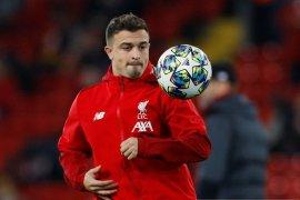 Pemain sayap Swiss  Xherdan Shaqiri dikonfirmasi positif tertular COVID-19