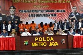Polisi bongkar prostitusi anak di Jakarta Utara