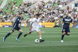 """Bali United """"digunduli"""" 0-5 oleh Melbourne Victory"""